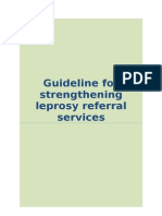 Guidelines for Strengthening Leprosy Referral Services