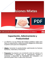 comisiones mixtas