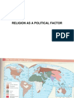 Religion as a Political Factor