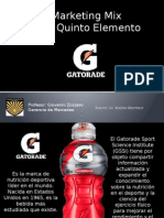 Marketing Mix_ GATORADE