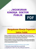 Materi Pengukuran Kinerja Sektor Publik