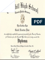chs diploma