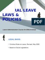 general leave laws policies