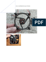 Generador de Energia Con Un Ventilador de Cpu e Imanes