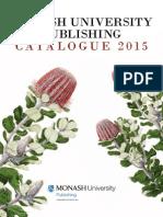 Monash University Publishing 2015 Catalogue