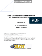 Geoscience Handbook