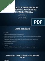 Manajemen Pemeliharaan Dan Perawatan Gedung Dan Fasilitasnya