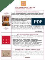 Centro Mandala Programma Aprile Giugno 2015