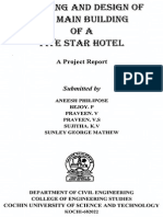 Planning and Design of Five Star Hotel