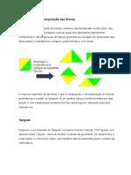 ARQUITETURA Composição e Decomposição Das Formas