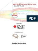 Program Schedule - Updated on 1 Dec 2014