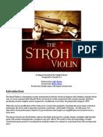 The Stroh Violin Documentation