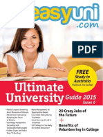 easyuni Ultimate University Guide 2015
