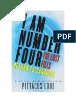 Lore, Pittacus - Soy El Número Cuatro 'Los Archivos Perdidos' 08 - Regreso a Paraíso