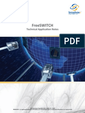 FreeSWITCH-Tech-App-Note-0909 pdf | Firewall (Computing