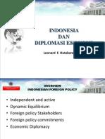 Indonesia Dan Diplomasi Ekonomi