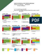Calendário Medicina