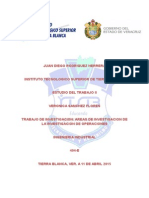 Aplicaciones de La Inv. Operac.