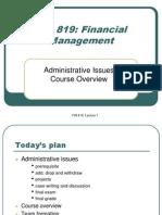 Financial Management 819