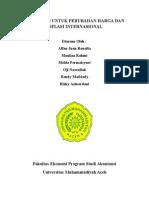 Akuntansi Untuk Perubahan Harga Dan Inflasi Internasional