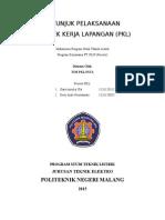 Cover Petunjuk Pelaksanaan Pkl Klas Pln 2014