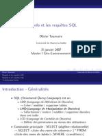 Requete SQLMap Info