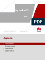Speech Quality and MOS