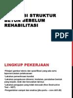 1b -Evaluasi Struktur Beton Sebelum Rehabilitasi