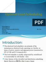 Optimal Load Scheduling (NEC)