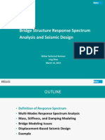 Bridge Structure Response Spectrum