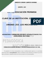 FORMACIÓN DOCENTE, ESCUELA Y PROYECTOS EDUCATIVOS 1857-1940