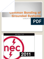 Common Bonding of Grounded Systems - ULPA-LPI Annual Conference 2013