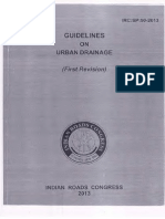 IRC SP-50-2013 Guidelines on Urban Drainage