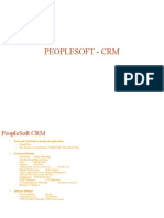 Basic PeopleSoft CRM