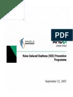 NID Prevention