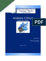 Análisis Crítico - Teoría de Costos