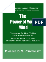The Power of Your Mind Beleif