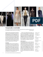 Fresh, Bold Haute Couture - Elite Traveler November 2009