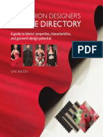 The Fashion Designers Textile Directory, Gail Baugh, Ed. Barrons Educational Series, 2011