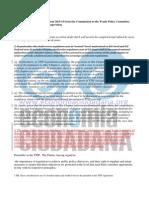 Documento filtrado sobre Cooperación Regulatoria en el TTIP