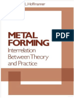 Metal Forming[a. L. Hoffmanner]