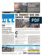 Asbury Park Press front page, Tuesday, April 21, 2015