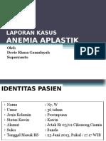 Bimbingan Dalam ANEMIA APLASTIK (Dr.fadiel,SpPD)