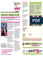 Updated NSSN Conference Leaflet