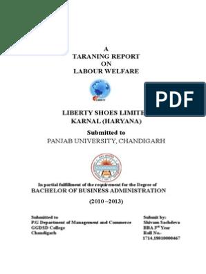 Liberty   Labour Economics   Employment