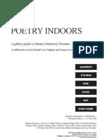 Poetry indoors