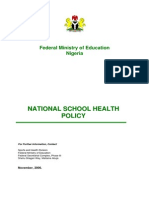 School Health Policy in Nigeria
