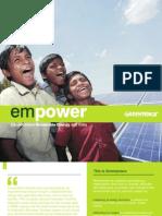 Empower Decentralised Renewable Energy India