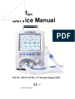 VersaMed IVent201 Service Manual