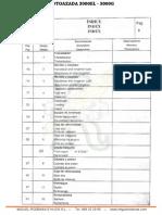 Manual de Despiece Motoazada 3000el 3000g